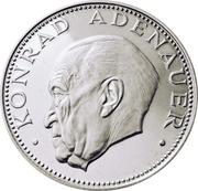 150 guaranies (Konrad Adenauer) -  revers