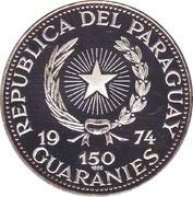 150 Guaraníes (Pope John XXIII) -  avers