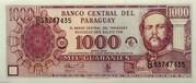 1000 Guaranies – avers