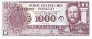 1,000 Guaraníes – avers