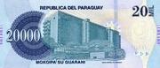 20 000 Guaranies – revers