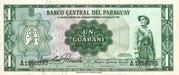 1 Guaraní – avers