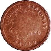 1 Centavo 1854 (Countermark) – revers