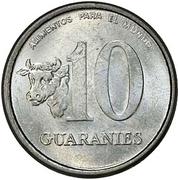 10 guaranies (FAO) -  revers