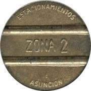 Jeton de stationnement - Asuncion (Zona 2) -  avers