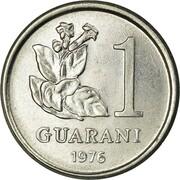 1 guarani -  avers