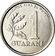 1 guarani (FAO, type 1) -  revers