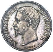 10 Reales Napoleon III (Pattern/Mule) – avers