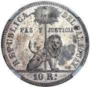 10 Reales Napoleon III (Pattern/Mule) – revers
