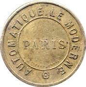 10 centimes - Automatique le Moderne - Paris [75]) – avers