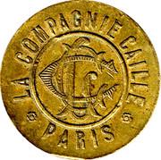 10 Centimes - LA COMPAGNIE CAILLE - Paris [75] – avers