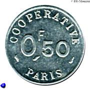 ½ Franc - Cooperative de l'Atelier des Monnaies et Médailles - Paris [75] – avers