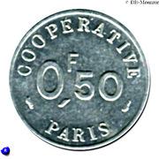 ½ Franc - Cooperative de l'Atelier des Monnaies et Médailles - Paris [75] – revers
