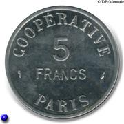 5 Francs - Cooperative de l'Atelier des Monnaies et Médailles - Paris [75] – revers