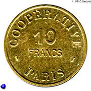 10 Francs - Cooperative de l'Atelier des Monnaies et Médailles - Paris [75] – avers