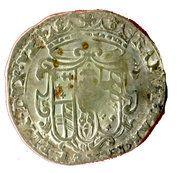 10 soldi Ranuccio II Farnese – avers