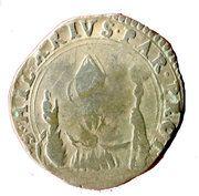 10 soldi Ranuccio II Farnese – revers