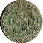 20 soldi, 1 lire Antonio Farnese – avers