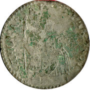 20 soldi, 1 lire Antonio Farnese – revers