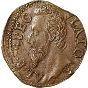 2 quattrini - Alessandro Farnese – avers