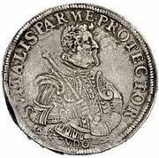 1 scudo - Odardo Farnese – revers