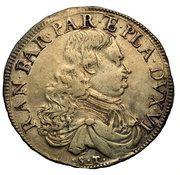 1 scudo - Ranuccio Farnese II – avers