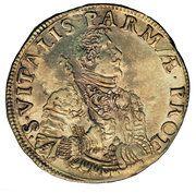 1 scudo - Ranuccio Farnese II – revers