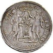 1 ducatone Ranuccio Farnese I – revers