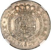 1 ducaton - Ferdinando di Borbone – revers