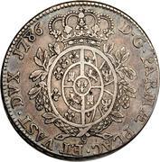 1 ducaton Ferdinando di Borbone – revers