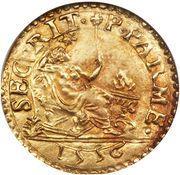 1 scudo d'Oro - Ottavio Farnese – revers