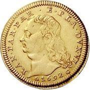 1 Doppia - Ranuccio Farnese II – avers