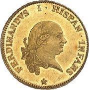 6 Doppie - Ferdinando di Borbone – avers
