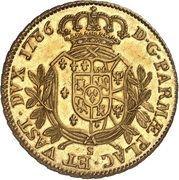 6 Doppie - Ferdinando di Borbone – revers