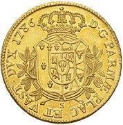 8 doppie Ferdinando di Borbone – revers