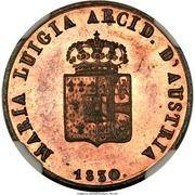 1 centesimo - Maria Luigia – avers