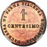 1 centesimo - Maria Luigia – revers
