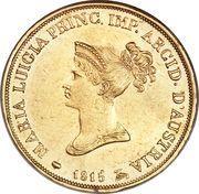 20 lire - Maria Luigia – avers