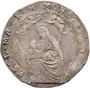 1 quarantano - Ranuccio II Farnese – revers