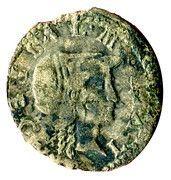 1 parpagliola Alessandro Farnese (jeune buste) -  revers