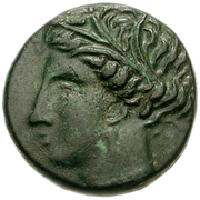 Bronze Æ16 (Paros) – avers