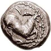 Drachm (Paros) – avers