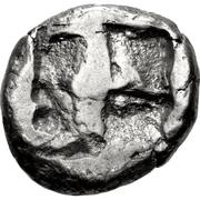 Drachm (Paros) – revers