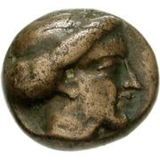 Bronze Æ10 (Paros) – avers
