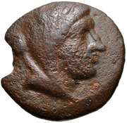 Bronze Æ19 (Paros) – avers