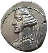 Drachm - Mithradates III -57-54 BC (Sellwood Type 40 - Kangavar) -  avers