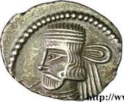 Drachme Vardanes II - 55-58 AD (Sellwood Type 69.13 - Ecbatana) -  avers