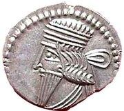 Drachm - Vologases III - 105-147 AD (Sellwood Type 78 - Ecbatana) -  avers
