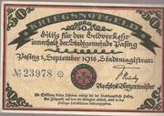 50 Pfennig Pasing) – avers