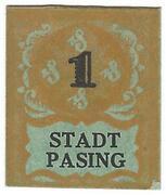 1 Pfennig (Pasing) – avers